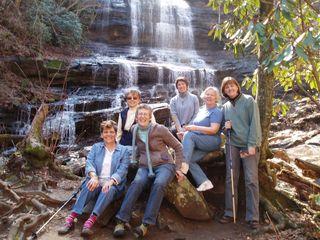 Divas at Pearson's Falls