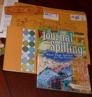 Journal Spilling - book